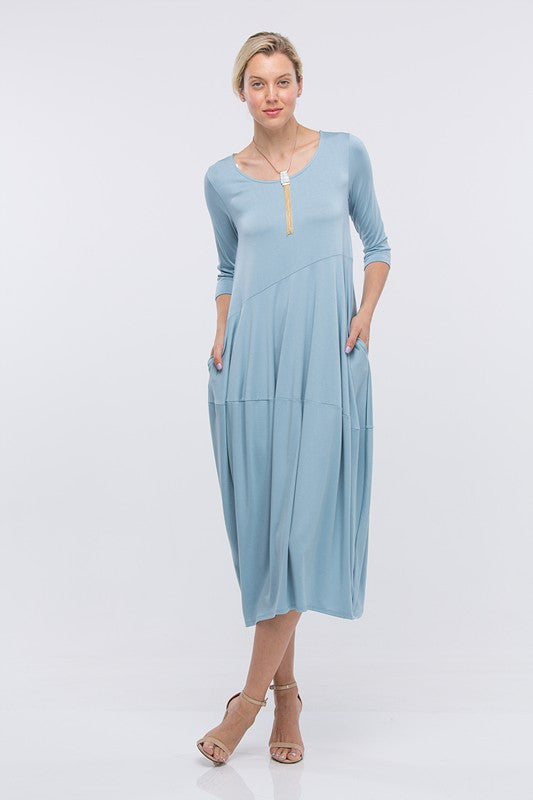 Sky Wandered Cocoon Dress