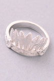 Feather Crown Medi Ring