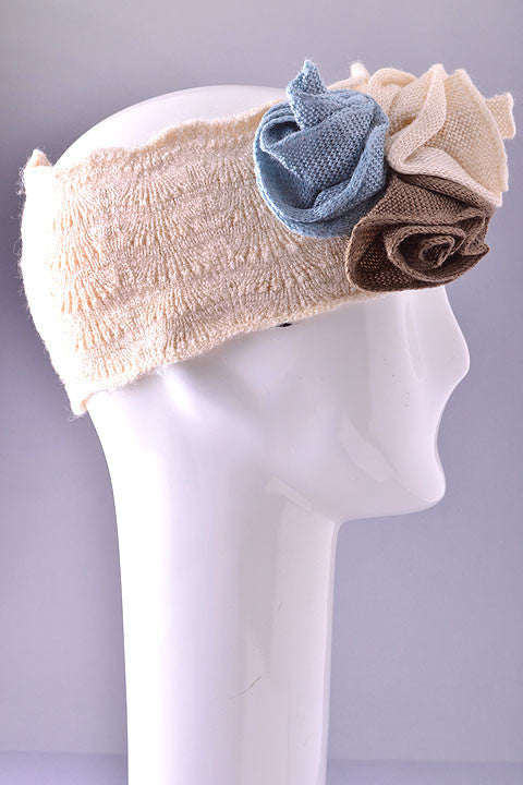 Peach & Roses Head Warmer
