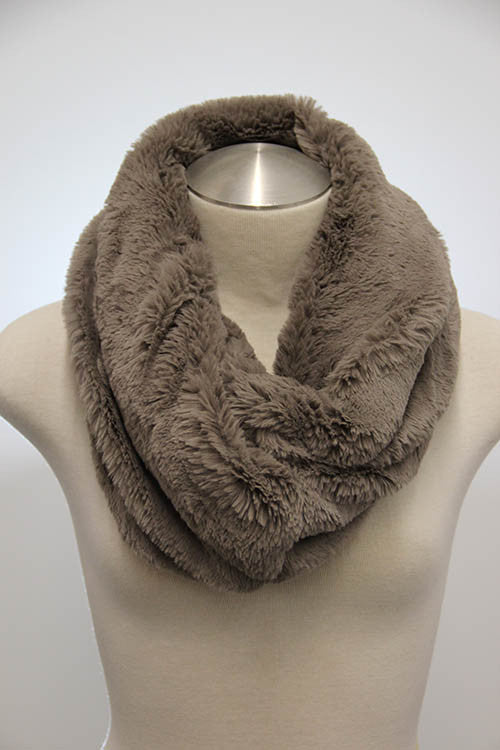 Furry Infinity Scarf (2 colors available)