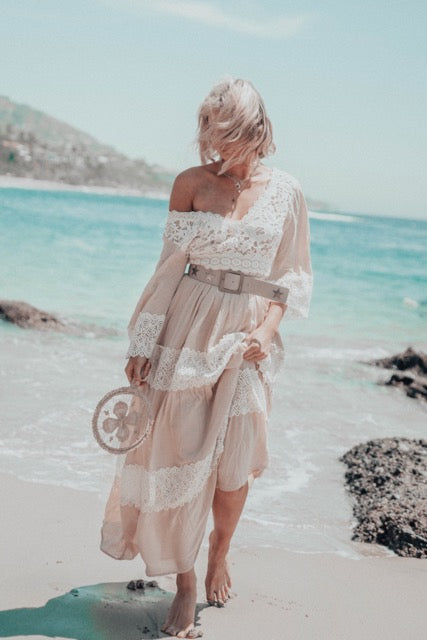 Champagne Boho Love Dress