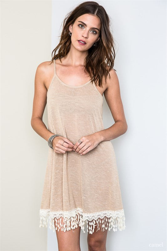 Skins Lace Slip Dress