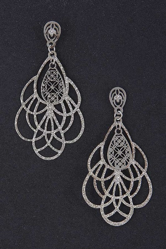 Elegant Overlapping Earrings