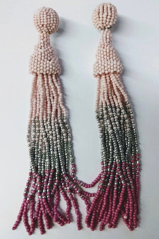 Beach Lover Earrings - Pink