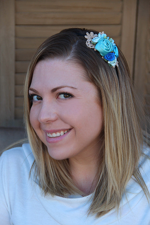 Rosette Cluster Headband (3 colors)
