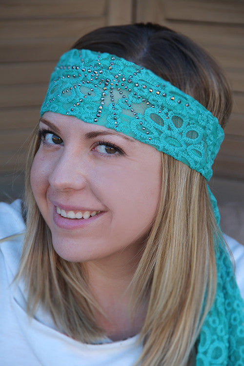 Gypsy Girl Headband Tie (2 colors available)