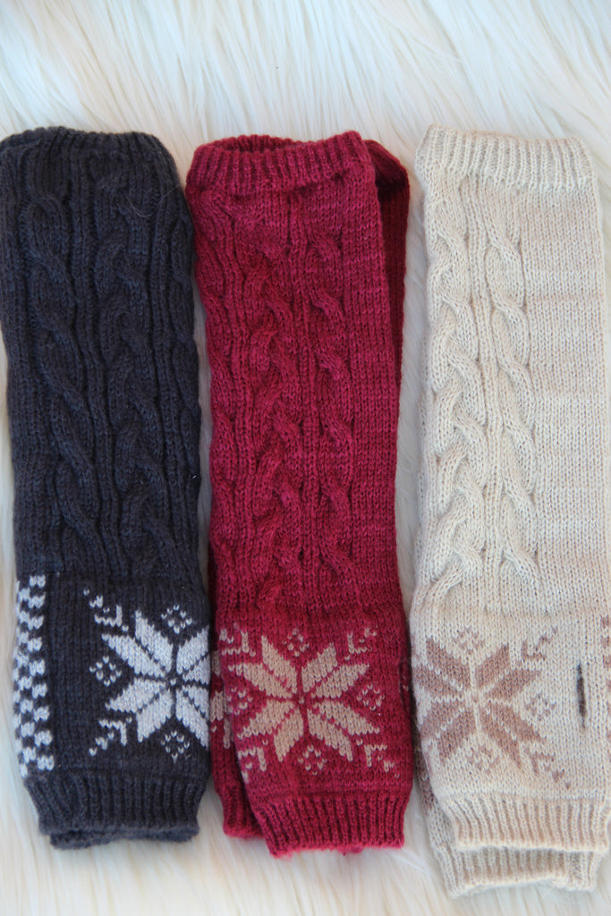 Snowflake Arm Warmer (Pack of 2)