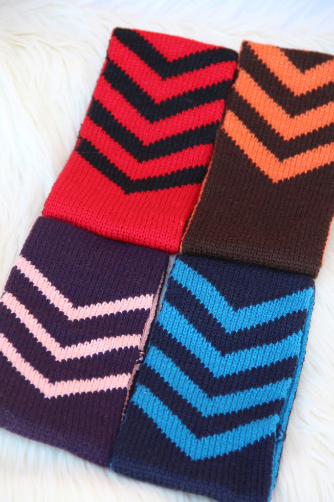 Chevron Knit Headband (Pack of 4)
