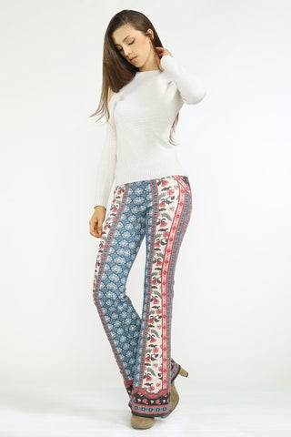 Canterbury Tales Printed Bell bottoms