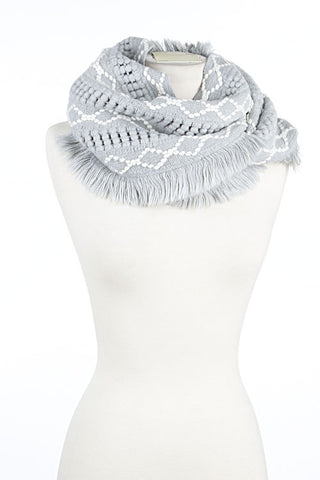 Infinity Triangle Scarf (3 colors)