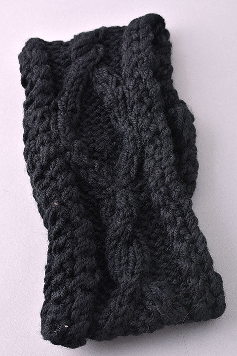 Cable Knit Headband (3 colors available)