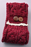 Big Button Headband