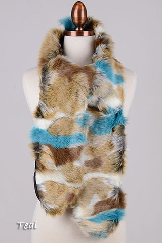 Nanook Faux Fur Wrap Scarf (2 Colors)