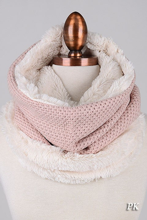 Cozy Time Knit Infinity Scarf (4 Colors)