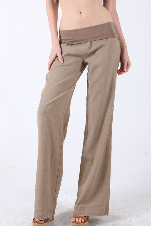 Summer Breeze Linen Pants (4 Colors Available)