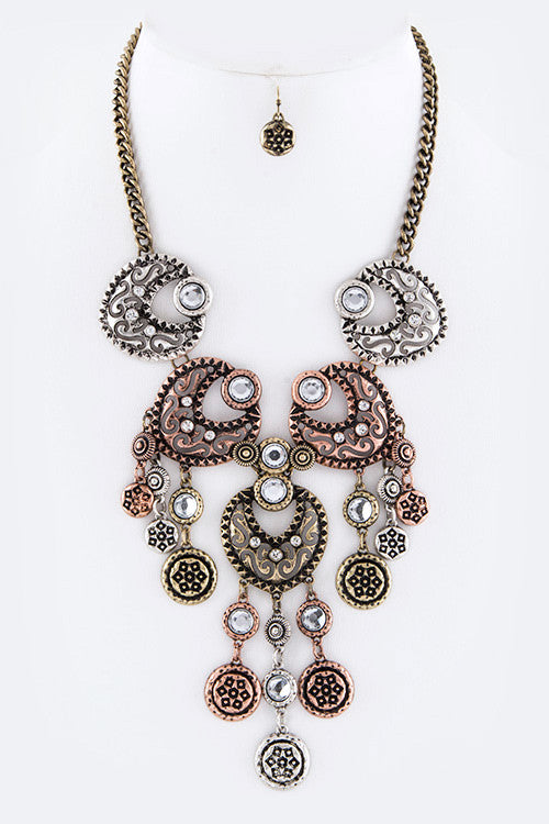Marry In Delhi Statement Necklace Set