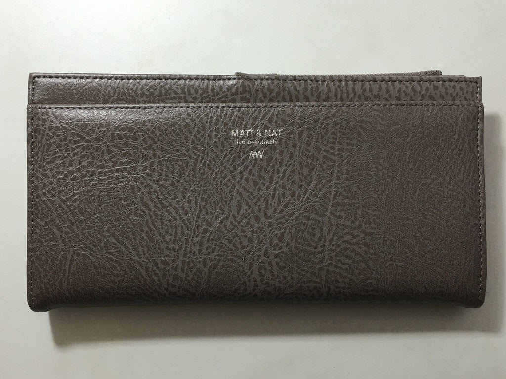 Matt & Nat Motiv Double Snap Wallet Large