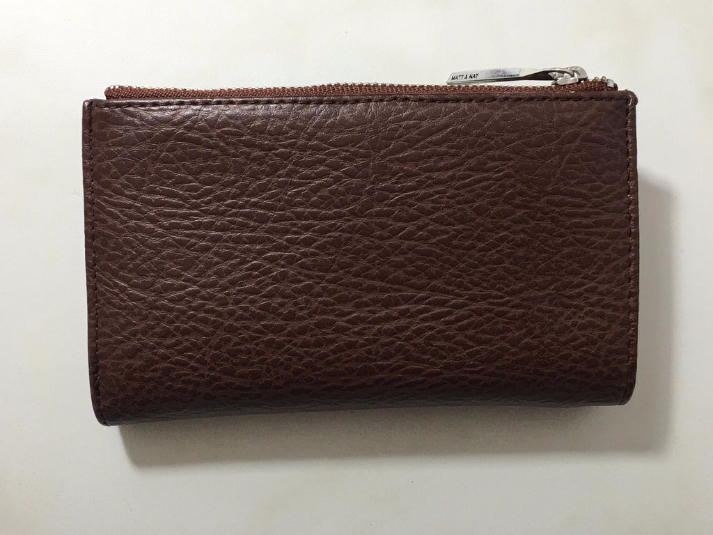 Matt & Nat Motiv Double Snap Dwell Wallet Small