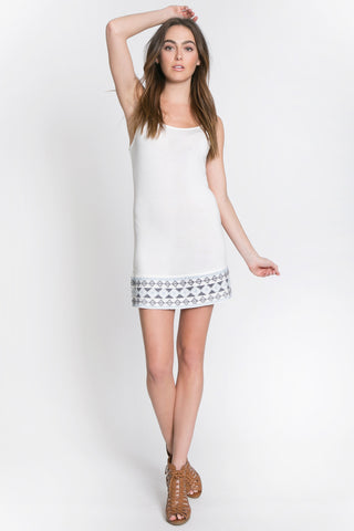 Navajo Hem Camisole Dress