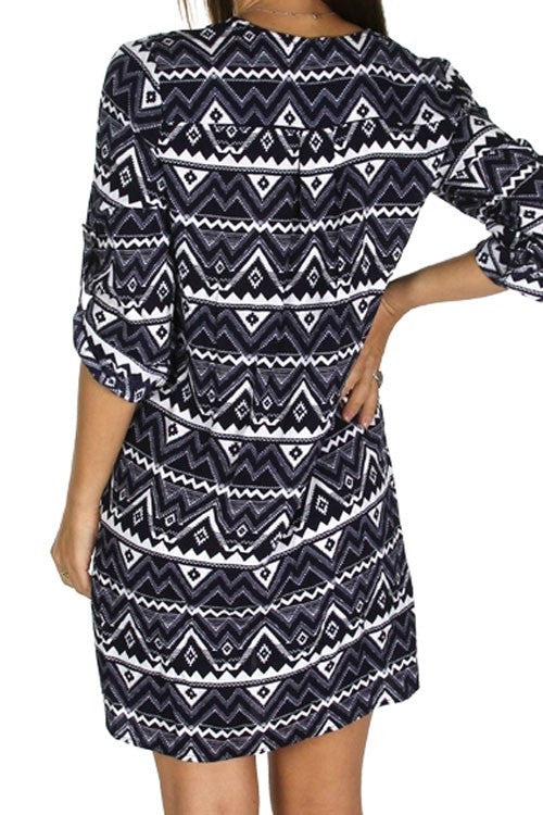 Sexy Boho Chic Shirt Dress
