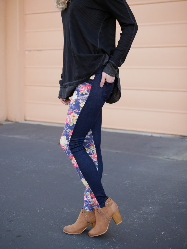 Monterey 2 Tone Jeggings