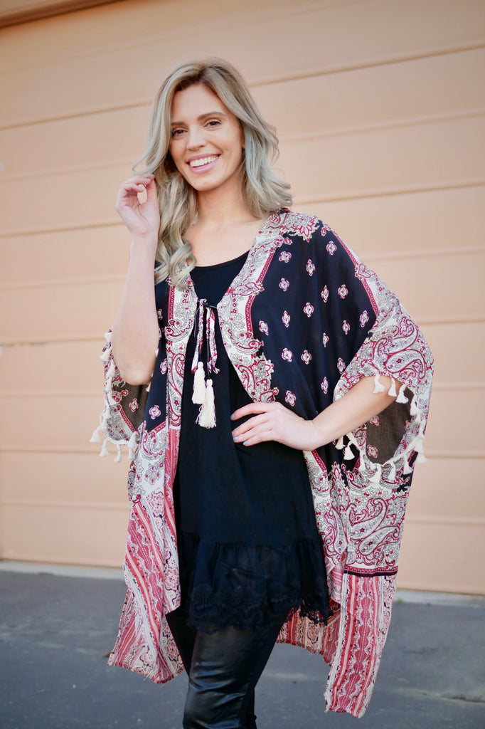 Sure Things Oversized Kimono