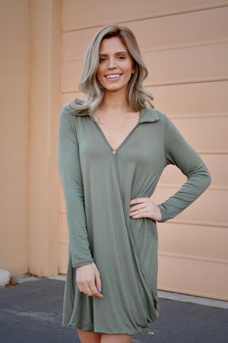 Cross My Heart Tunic Dress