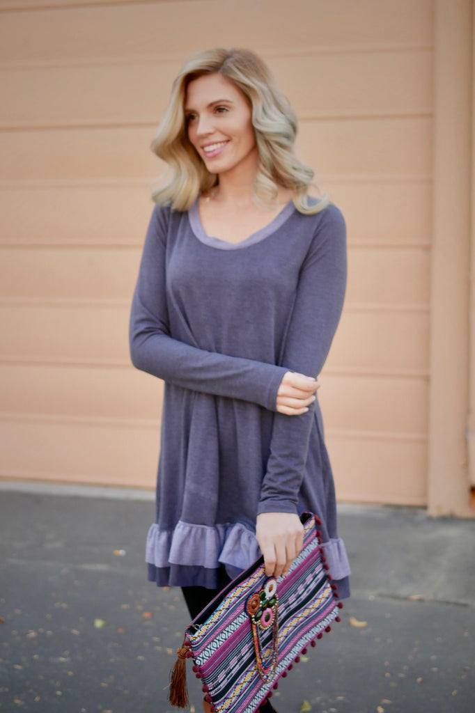 Total Blues Tunic Dress/Top