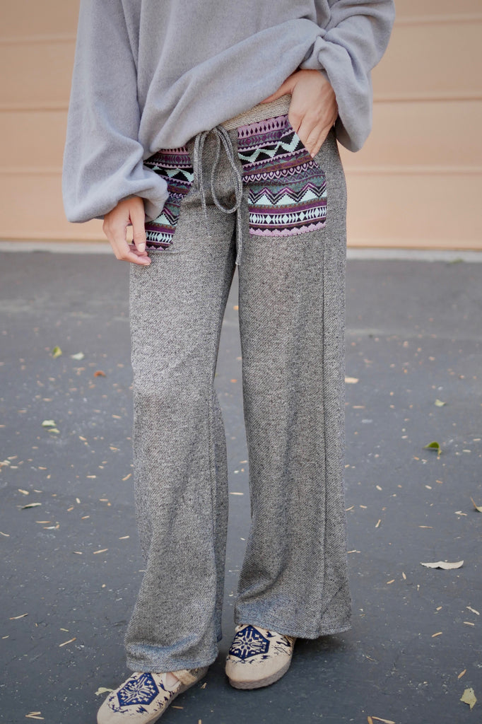 All About Tribal Comfy Pants
