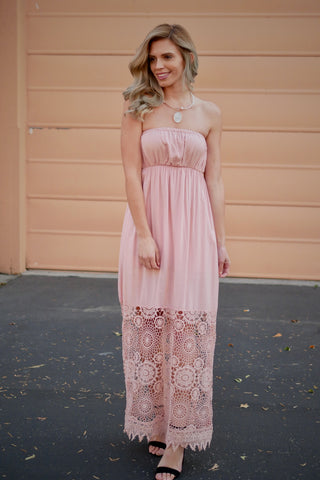 Much Ado Maxi Dress - Taupe
