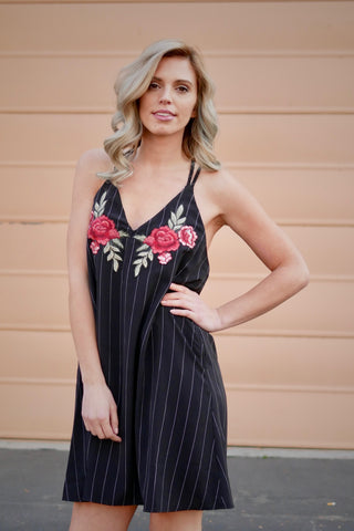 Midnight Party Strappy Dress