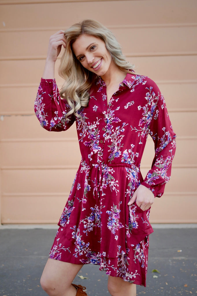 New Romantics Shirt Dress