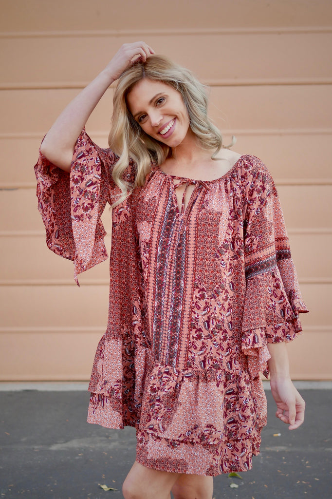 So In Love Tunic Top/Dress