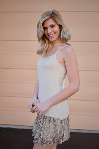Sweet Lucy Dress Extender - Taupe