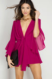 Berry Beauty Romper