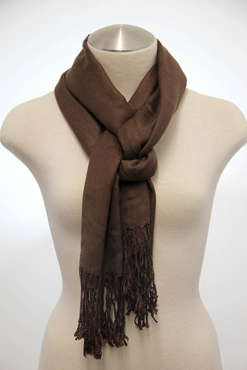 Tassel End Scarf (2 colors available)