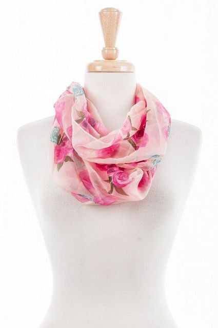 Secret Garden Infinity Scarf (Pack of 4)