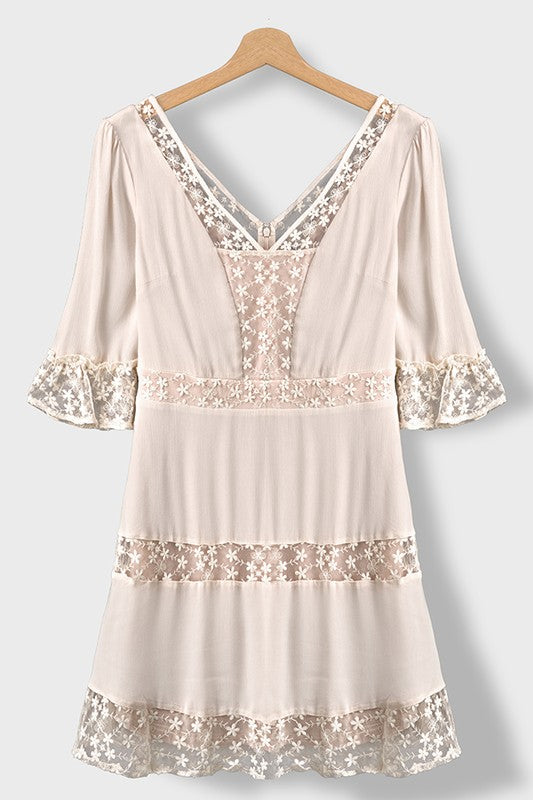 Angelic Shift Dress