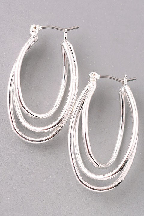 Katja Tri-Hoop Earrings