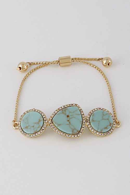 Sweet Nothings Stone Bracelet