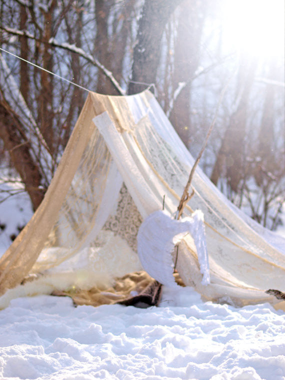 Boho Meditation Tent Bed Canopy