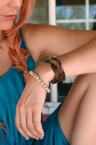 Twists and Turns Wrist Cuff (2 Colors)