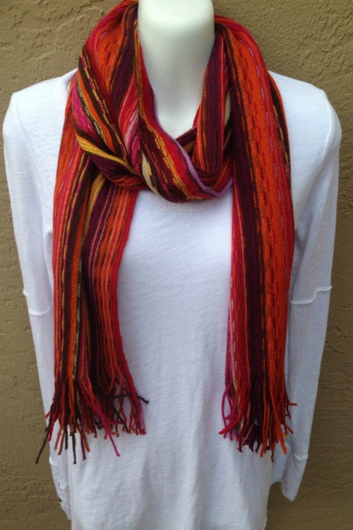 Katrina Stripe Scarf (Pack of 2)