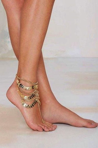 Multi Layer Anklet