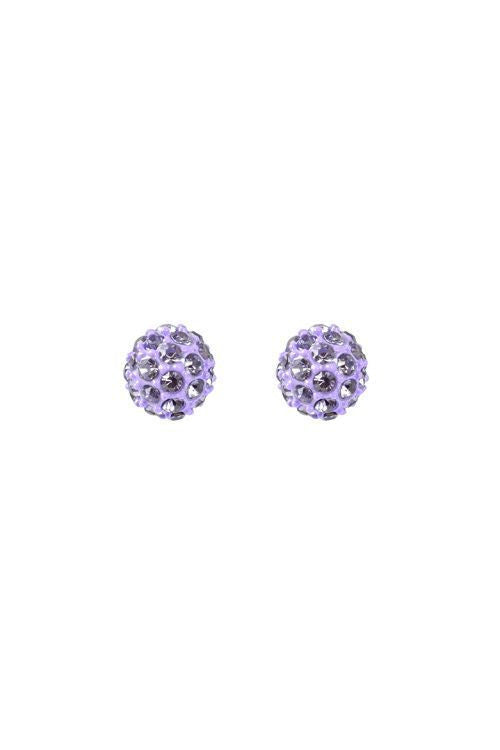 Purple Mist Earrings