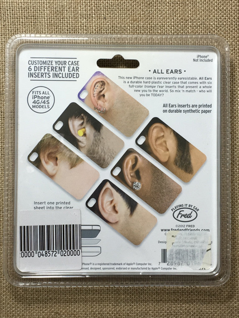 Guy Earonic iPhone 4/4s case