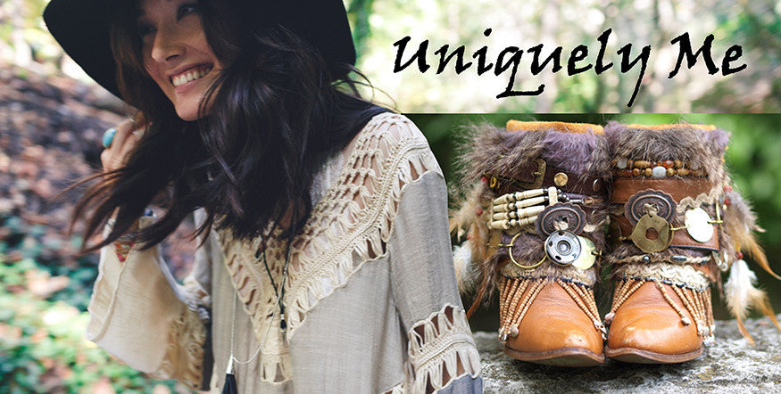 Be Unique in our Gypsy festival boots