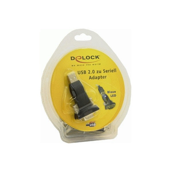 Cable USB a Puerto Serie DELOCK 61425