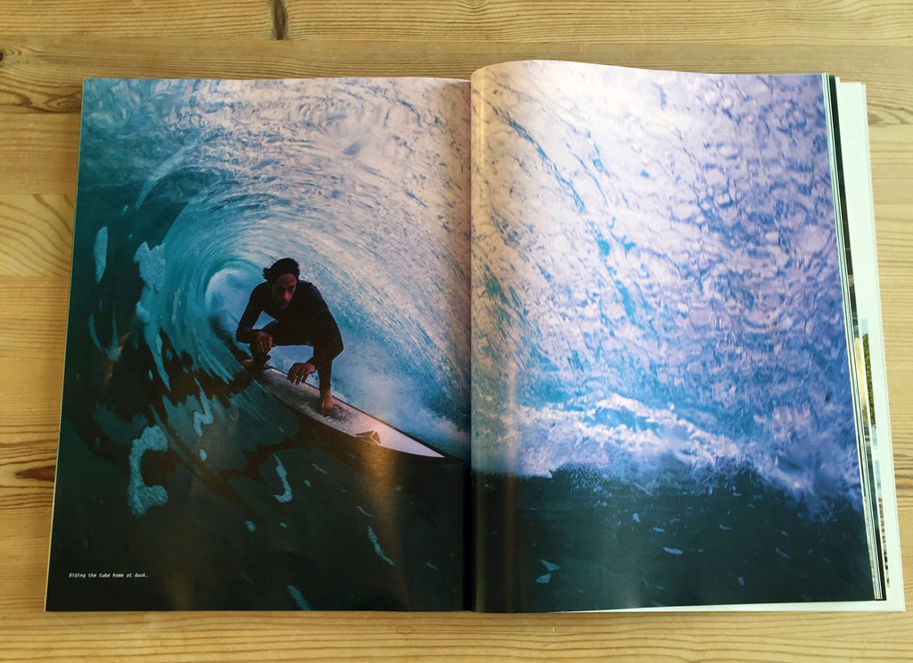 Pete Geall Carve Mag Spread