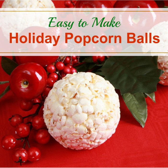 How to Make Holiday Popcorn Balls